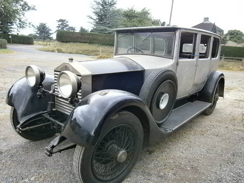 1928 Rolls Royce 20Hp Connaught Saloon - SOLD  SOLD (picture 1 of 6)
