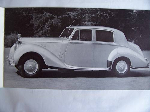 1953 ROLLS ROYCE & PARK WARD Four Light Drophead Coupe For Sale (picture 2 of 6)