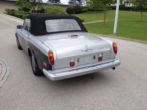 1989 ROLLS-ROYCE CORNICHE II Convertible LHD For Sale (picture 2 of 6)