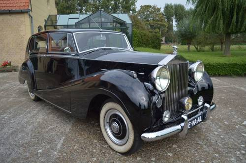 1952 Rolls - Royce  Silver Wraith  H.J.Mulliner For Sale (picture 1 of 6)