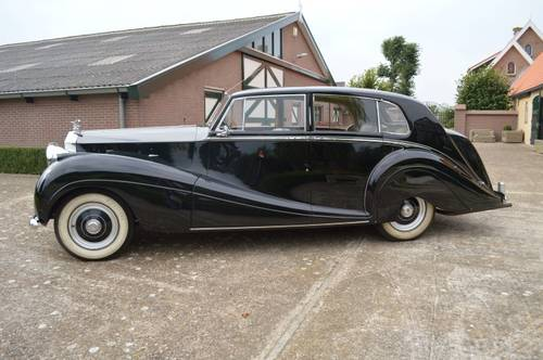 1952 Rolls - Royce  Silver Wraith  H.J.Mulliner For Sale (picture 2 of 6)