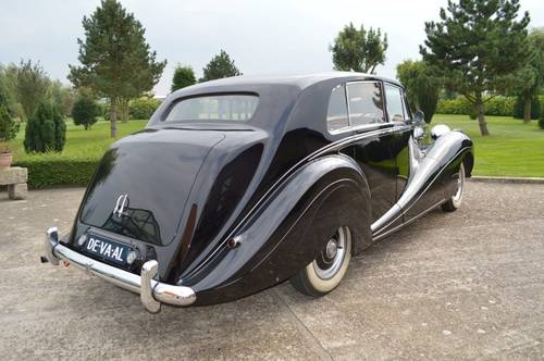 1952 Rolls - Royce  Silver Wraith  H.J.Mulliner For Sale (picture 3 of 6)
