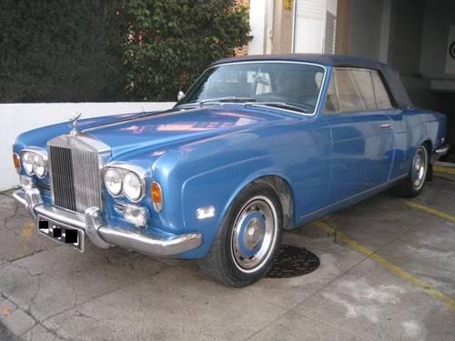 1970 ROLLS ROYCE CORNICHE CONVERTIBLE For Sale (picture 1 of 6)