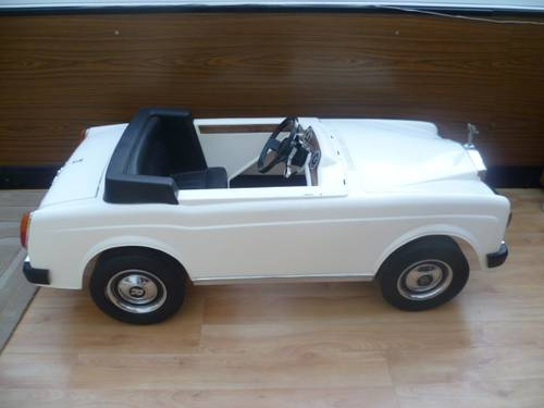ROLLS  ROYCE Corniche ( VINTAGE ElettricTOY  Car ) 1988 For Sale (picture 3 of 5)