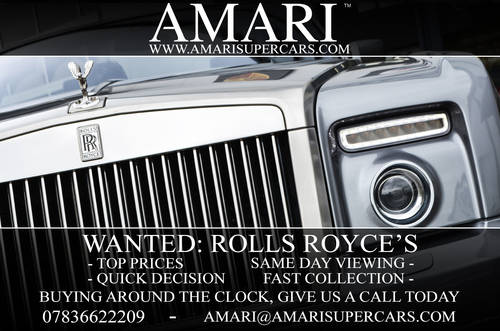 Wanted: Rolls Royce's Wanted (picture 1 of 1)