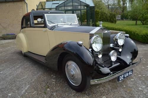 1937 Rolls-Royce 25/30 HP Gurney Nutting Sedanca de Ville For Sale (picture 1 of 6)