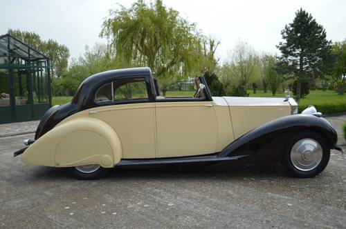 1937 Rolls-Royce 25/30 HP Gurney Nutting Sedanca de Ville For Sale (picture 2 of 6)