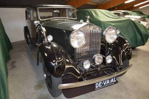 1935 Rolls-Royce 20/25 HP James Young Bromley Sports Saloon For Sale (picture 1 of 4)