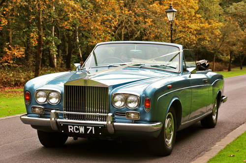 1967 Rolls Royce Corniche Convertible for Self Drive Hire For Hire (picture 1 of 6)