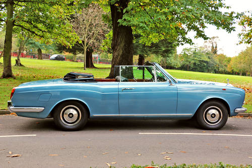 1967 Rolls Royce Corniche Convertible for Self Drive Hire For Hire (picture 4 of 6)