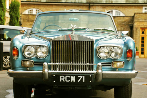 1967 Rolls Royce Corniche Convertible for Self Drive Hire For Hire (picture 5 of 6)