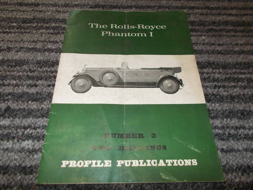 0000 rolls royce phantom 1 profile publication For Sale (picture 1 of 2)