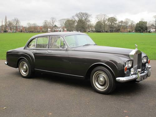 1965 Rolls-Royce Silver Cloud III Sports Saloon For Sale (picture 1 of 1)