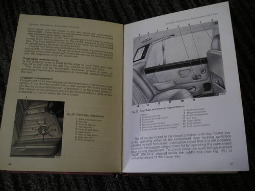 0000 rolls royce silver shadow and bentley t drivers manual For Sale (picture 2 of 2)