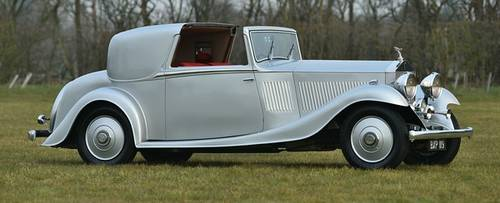 1934 Rolls Royce 20/25 Gurney Nutting Sedanca Coupe  For Sale (picture 2 of 6)