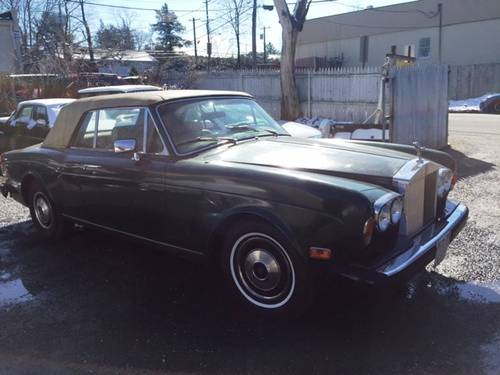 1983 Rolls-Royce Corniche Convertible For Sale (picture 1 of 5)