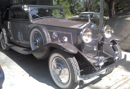 1933 Rolls Royce 20/25 Drophead Coupe by James Young For Sale (picture 2 of 6)
