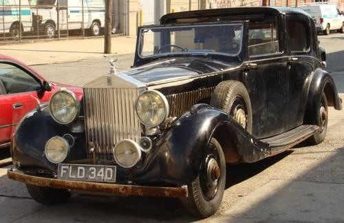1939 Rolls Royce Wraith Sedanca de Ville by Hooper (1of492) For Sale (picture 1 of 6)