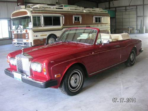 1980 Rolls Royce Corniche Convertible For Sale (picture 1 of 6)
