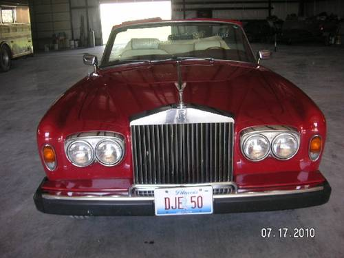 1980 Rolls Royce Corniche Convertible For Sale (picture 2 of 6)