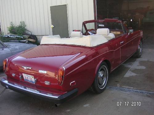 1980 Rolls Royce Corniche Convertible For Sale (picture 3 of 6)