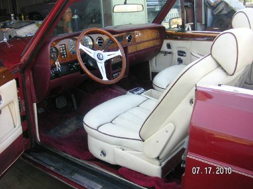 1980 Rolls Royce Corniche Convertible For Sale (picture 4 of 6)