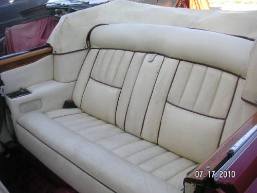 1980 Rolls Royce Corniche Convertible For Sale (picture 5 of 6)