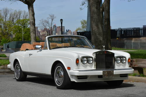 1995 Rolls-Royce Corniche S For Sale (picture 1 of 5)