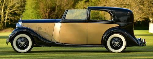 1938 Rolls RoycePhantom III Sedanca by H.J. Mulliner. For Sale (picture 2 of 6)