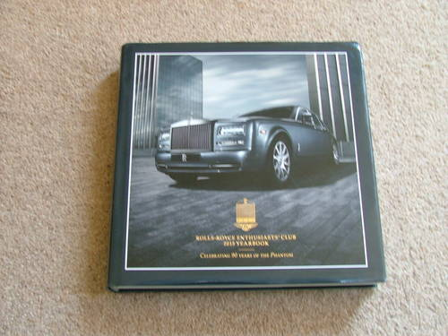 Rolls Royce Enthusiasts' Club Yearbook 2015 For Sale (picture 1 of 1)