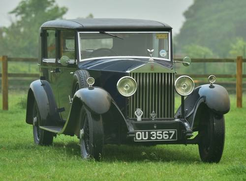 1931 Rolls Royce 20/25 Park Ward Saloon For Sale (picture 1 of 6)