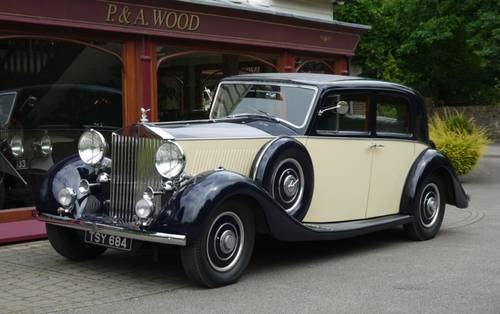 Rolls-Royce Phantom III 1936 Pillarless Saloon by Binder For Sale (picture 1 of 3)