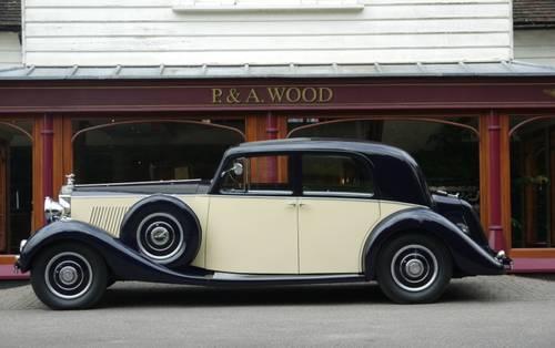 Rolls-Royce Phantom III 1936 Pillarless Saloon by Binder For Sale (picture 2 of 3)