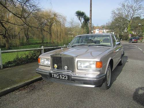 1990 ROLLS-ROYCE SILVER SPIRIT II For Sale (picture 1 of 6)