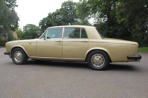 1980 V Rolls Royce Silver Shadow Series II in Willow Gold For Sale (picture 4 of 6)