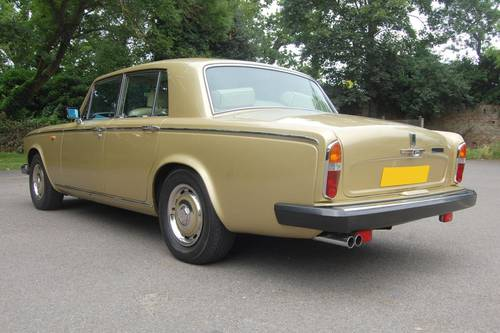 1980 V Rolls Royce Silver Shadow Series II in Willow Gold For Sale (picture 5 of 6)
