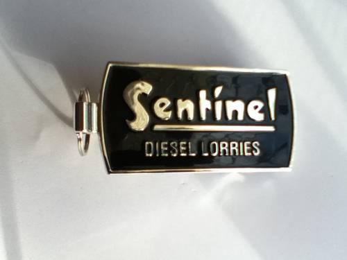 1950 Sentinel Diesel Lorries key rings For Sale (picture 1 of 2)