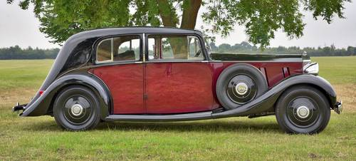 1937 Rolls Royce Phantom 3 Barker Swept Back Saloon. For Sale (picture 3 of 6)