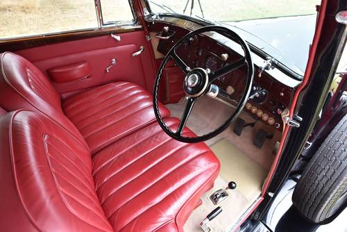 1937 Rolls Royce Phantom 3 Barker Swept Back Saloon. For Sale (picture 5 of 6)
