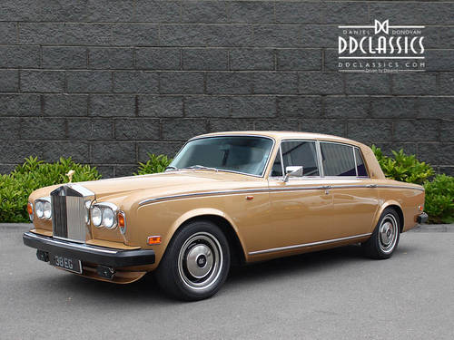1977 Rolls-Royce Silver Wraith II LHD SOLD (picture 1 of 6)