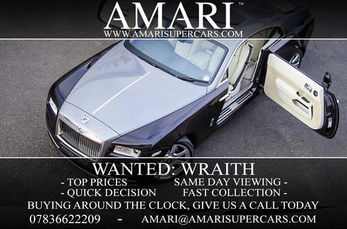 Wanted: Rolls Royce Wraith For Sale (picture 1 of 1)