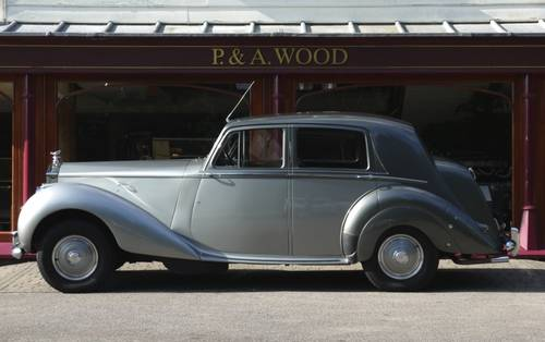 Rolls-Royce Silver Dawn 1951 Standard Saloon For Sale (picture 2 of 3)
