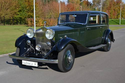1934 (539)  Rolls Royce Phantom II Sports Saloon by James Young For Sale (picture 1 of 6)