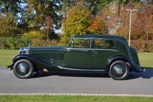 1934 (539)  Rolls Royce Phantom II Sports Saloon by James Young For Sale (picture 2 of 6)