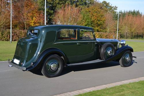1934 (539)  Rolls Royce Phantom II Sports Saloon by James Young For Sale (picture 3 of 6)