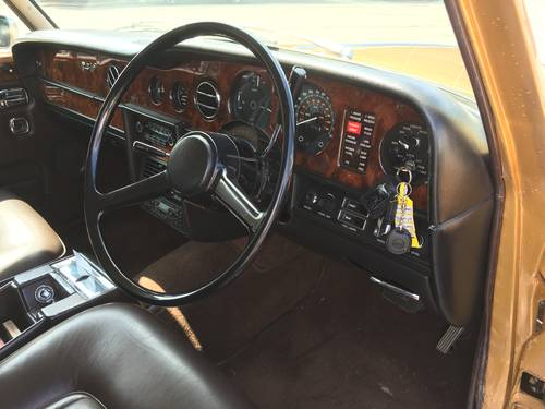 Beautifull 1980 Rolls Royce Silver Shadow II SOLD (picture 4 of 6)