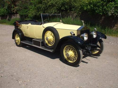 1924 Rolls Royce Silver Ghost Open Tourer by Barker  For Sale (picture 1 of 1)