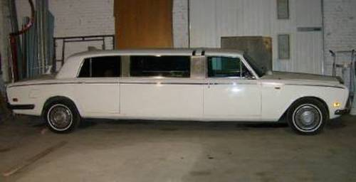 1972 Rolls-Royce Silver Shadow Limousine For Sale (picture 2 of 5)