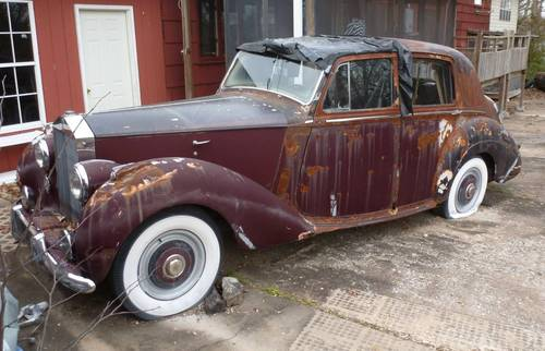 1953 Rolls-Royce Silver Dawn LHD  For Sale (picture 1 of 5)