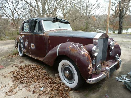 1953 Rolls-Royce Silver Dawn LHD  For Sale (picture 2 of 5)